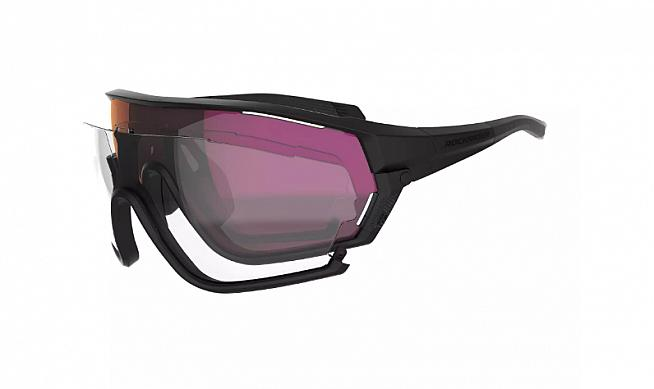 The XC Race cycling sunglasses from Rockrider.