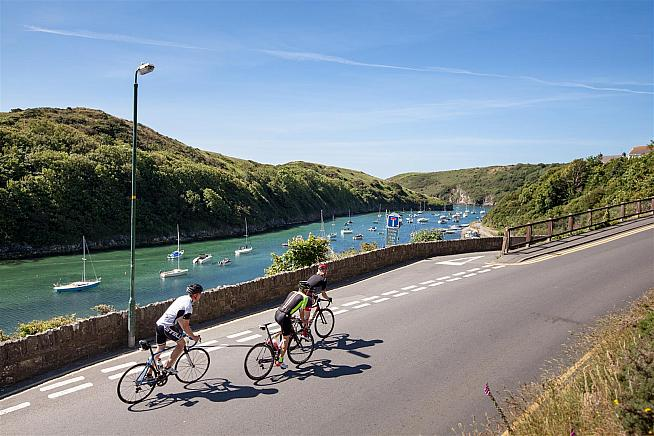 Take on the Virtual Tour of Pembrokeshire and win a pair of new wheels.