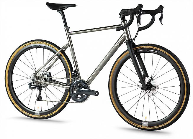 The new CGR Ti from Ribble updates the brand's popular titanium adventure bike.