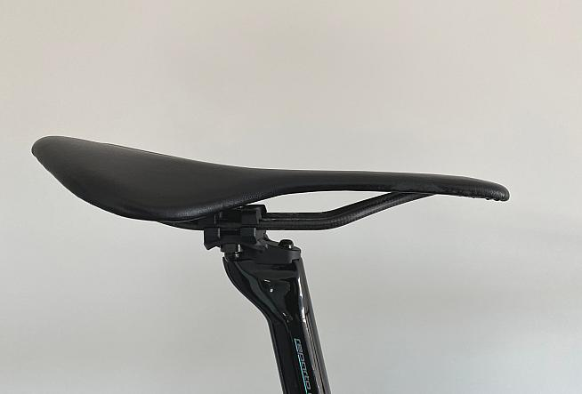 The Berk Lupina is a full carbon padded  saddle weighing under 100g.