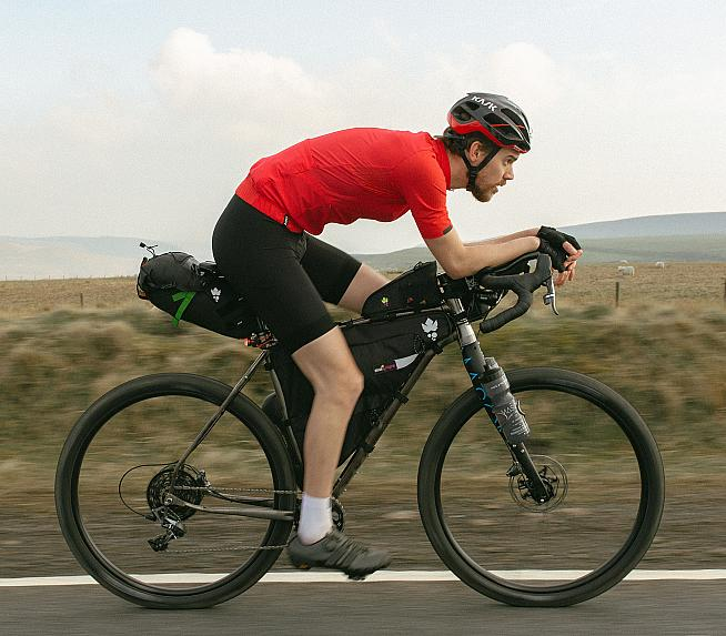 Good fit and a comfortable position are essential for long distance rides.