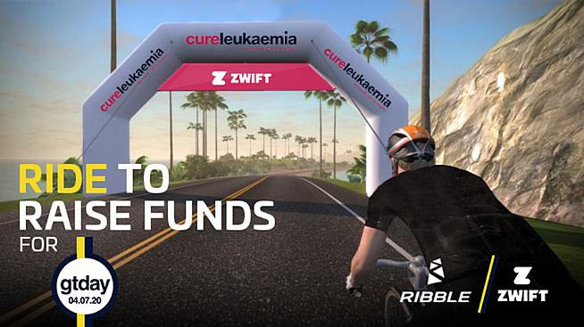 Join the Ribble fundraiser on Zwift on 4 July - and be in with a chance to win great prizes.