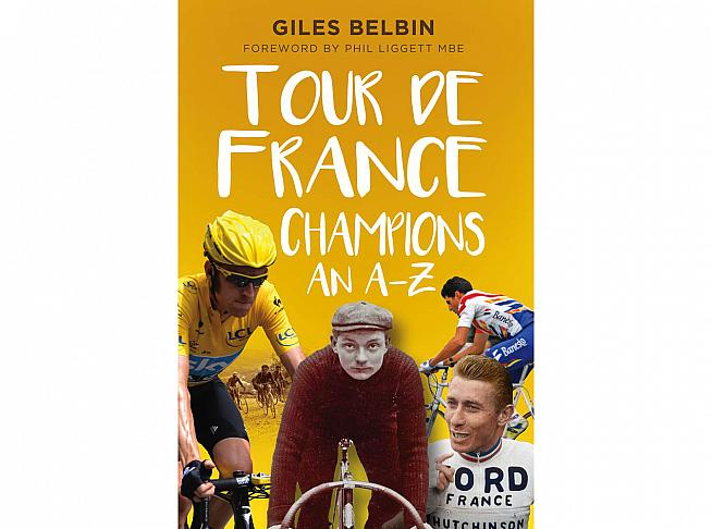 Discover the stories behind every Tour de France winner in Giles Belbin's new book.