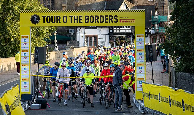 The Tour o The Borders is one of three Scottish closed road sportives.