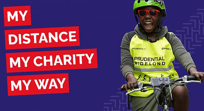 Virtual RideLondon will help riders raise funds for supported charities.
