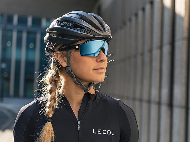 The glasses are customisable with an optional photochromic lens.