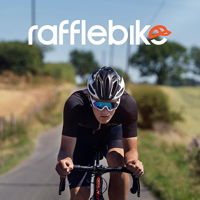 Win bikes and cycling kit with Rafflebike.