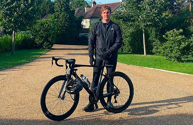 Ribble Cycles delivered their Endurance SL to Surrey and England's Cricket World Cup winning batsman Jason Roy.