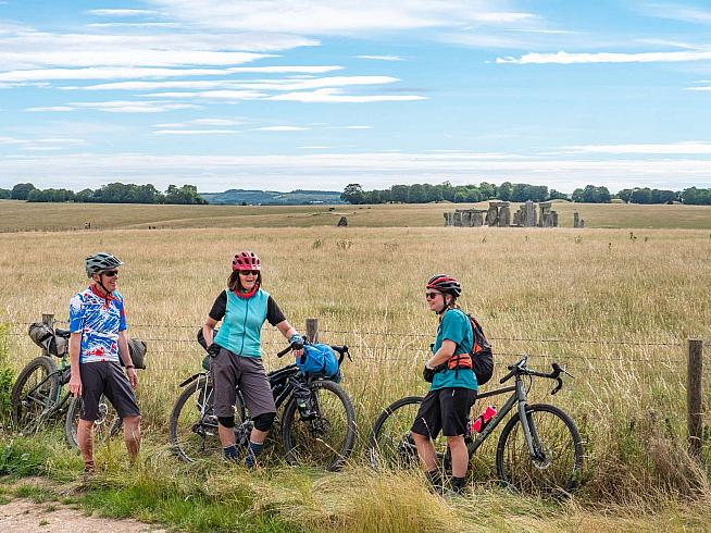 King Alfred's Way is a 350km cycle route linking Stonehenge and other ancient sites in southern England.