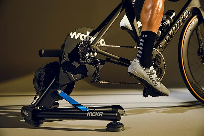 Smart moves: the new Wahoo KICKR brings improved accuracy and ride feel.