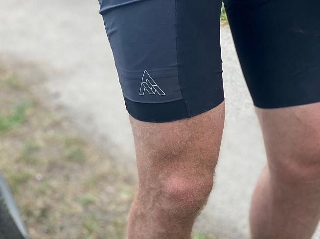 The pockets sit flush to the leg when not in use for a slim profile.
