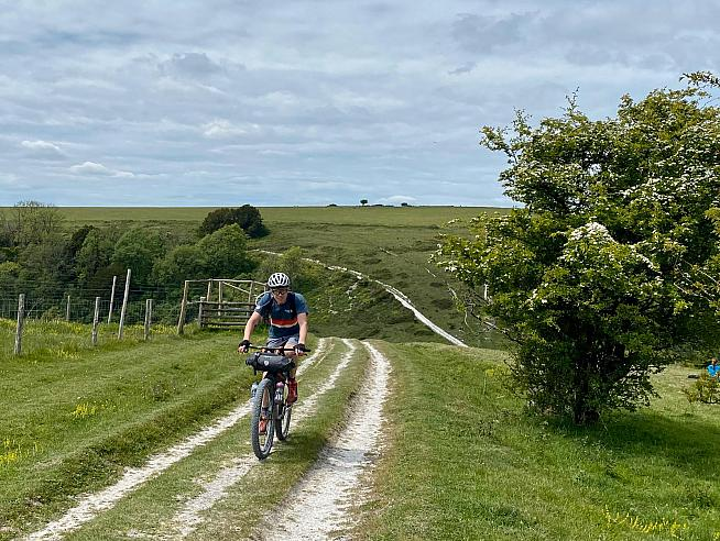 The Adventure Ti proved a great partner for long days out on the South Downs Way.