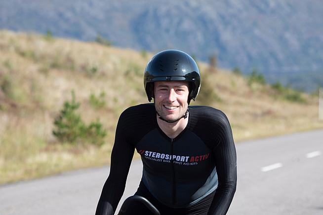 Josh Quigley has set a new NC500 record of 31 hours 19 minutes. Credit: Martin Watt Photography