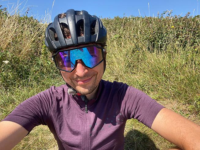 Photochromic lenses change tint to suit a wider range of ride conditions.