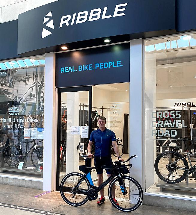 Ribble Cycles are supporting Darren's challenge which is to raise funds for Help for Heroes.