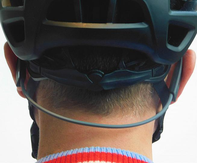 Nothing to see here... the headphones are relatively discreet beneath a helmet. Photo: Rosie Beyfus