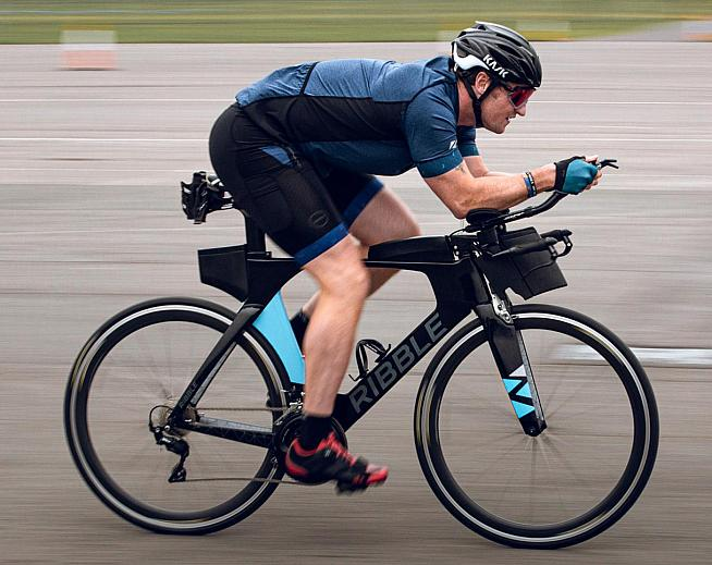 Darren will ride the Ribble Ultra Tri for the bike legs of the challenge.