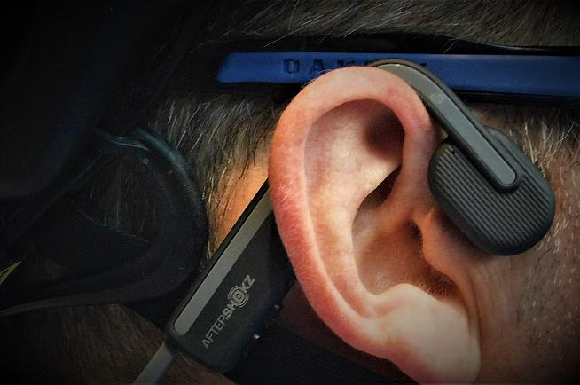 Less claustrophobic than in-ear headphones. Photo: Rosie Beyfus
