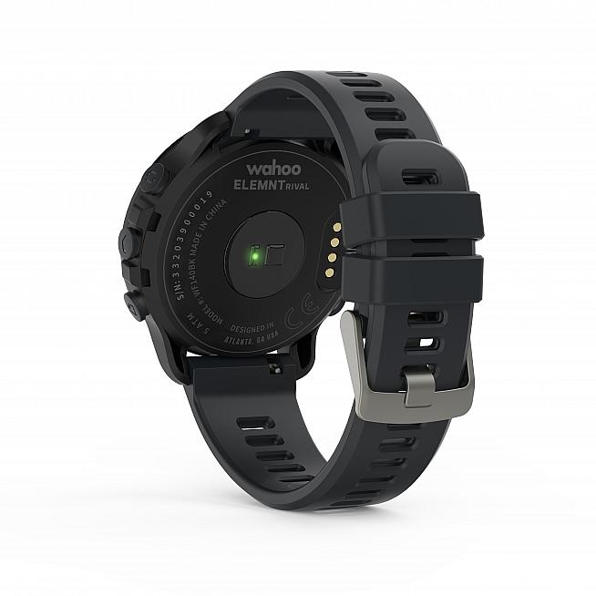 The RIVAL features an optical heart rate sensor along with an altimeter and live tracking.