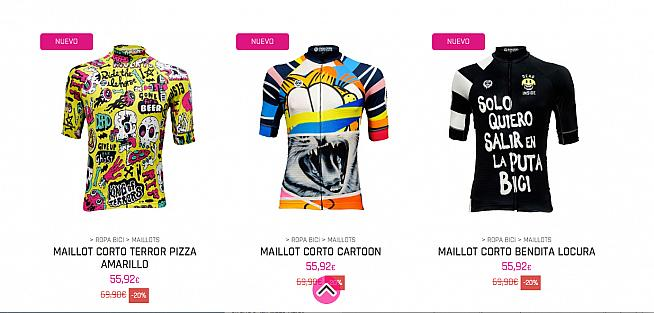 Who wouldn't want a jersey design called 'Terror Pizza'?