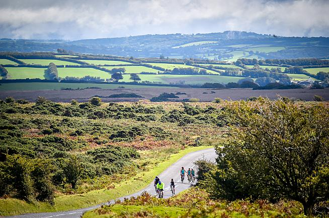 Challenging climbs and glorious views await - along with cider and a BBQ at the seafront finish.