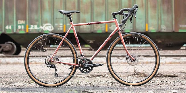 The All-City Space Horse is an ideal gravel grinder.