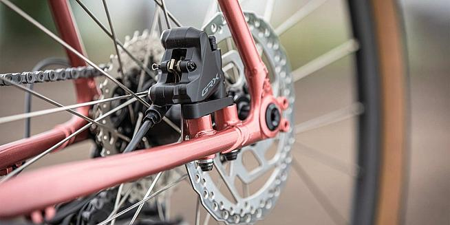 Whether rim or disc brakes check your brake pads aren't excessively worn.