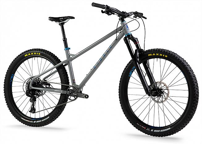 The Ribble HT 725 Sport - shown here with dropper post upgrade.