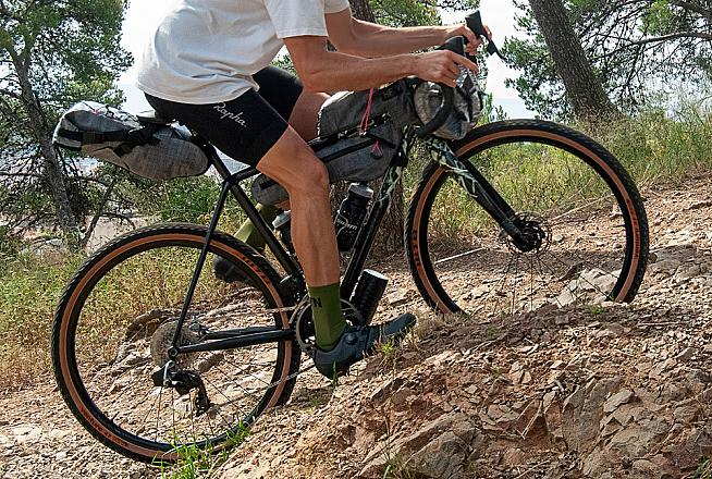 Fast rolling and agile - 650B wheels are a popular choice on gravel and adventure bikes.
