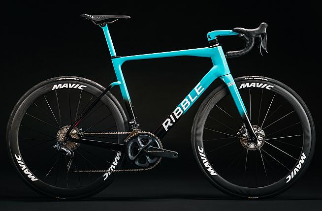 The new Drops-Le Col supported by TEMPUR team bike for 2021.