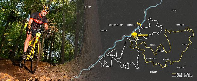 The course for the new Flanders Gravel weekend set for this July.