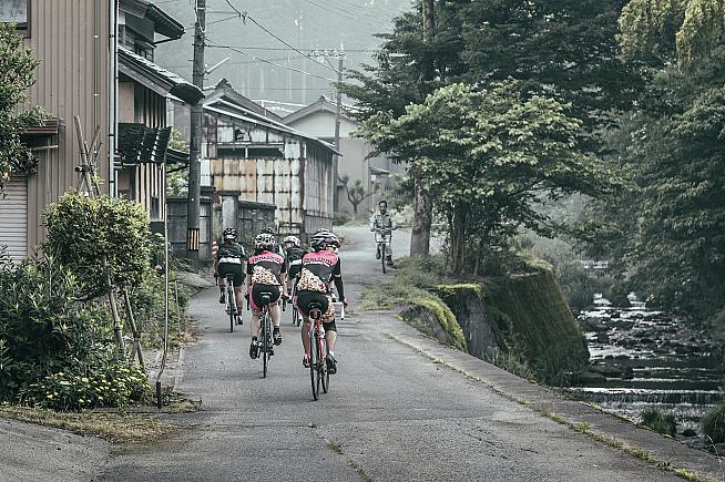 Kanazawa in Japan is among the stops on the Rapha Prestige series.