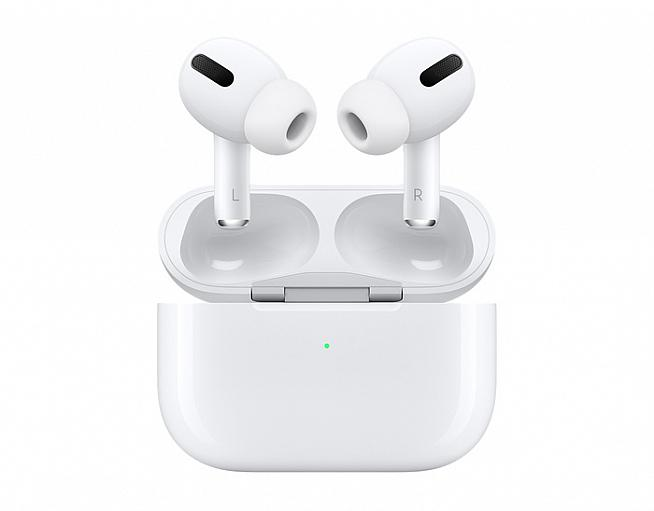 Apple's distinctive white pods feature a transparency mode to allow ambient sounds through.