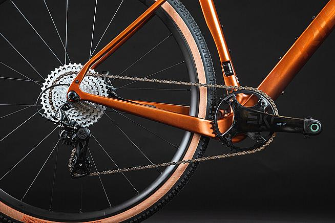 The Gravel SL and Ti will be available with Campagnolo Ekar gravel groupset.