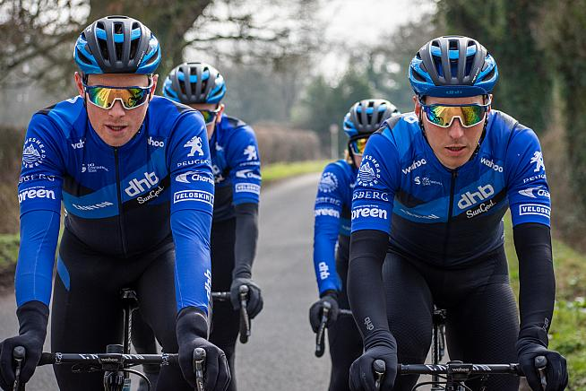 Canyon dhb SunGod will race in the Velans during the 2021 season.