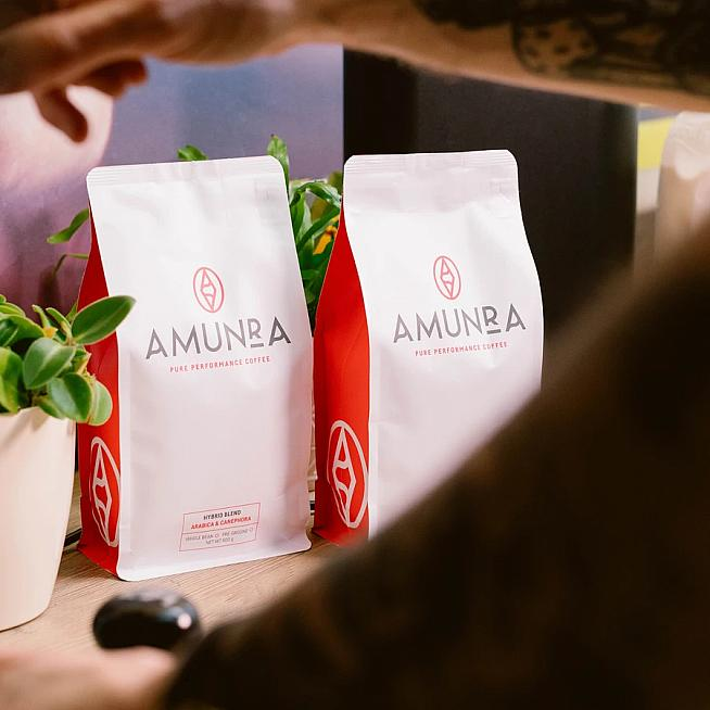 Amunra coffee takes out the guesswork with a measured dose of caffeine.