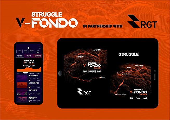 Don't miss the Struggle V-Fondo series on 3 and 10 March on RGT.