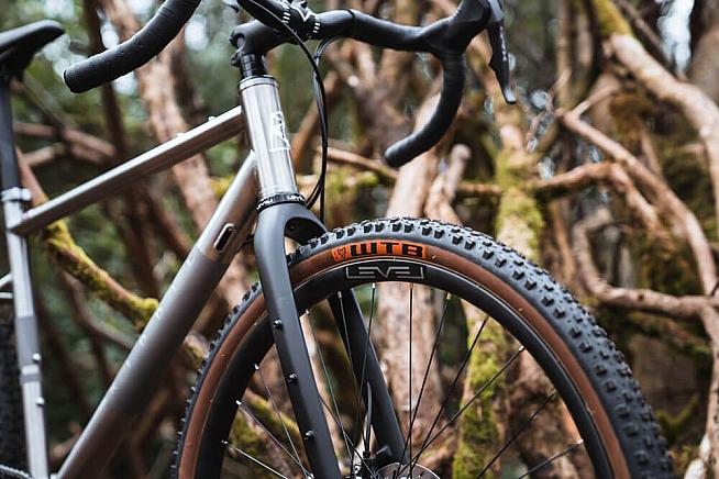 The Gravel Ti brings the classic appeal and ride quality of titanium.