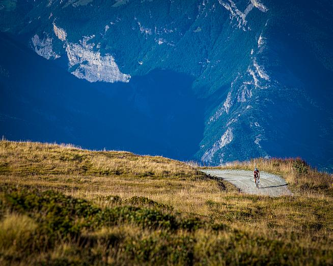 Haute Route with a gravel twist: the new Gravel Epic series launches in Switzerland.