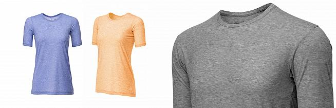 The Elevate top is available in long and short sleeve for men and women.