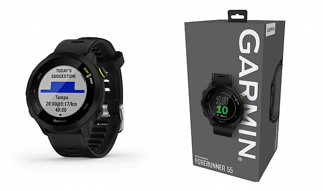 The new Forerunner 55 from Garmin is a feature-rich easy to use smartwatch.