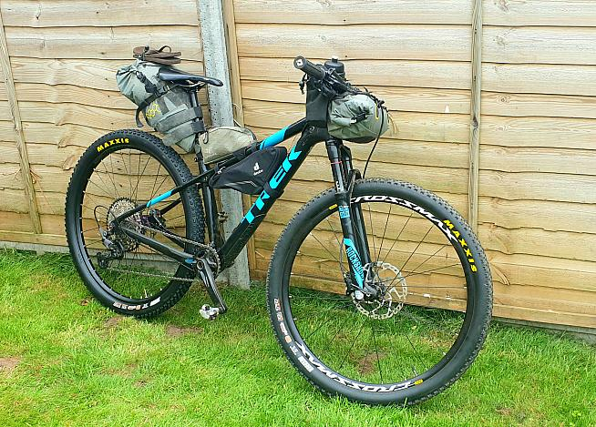 Issy Hill is going for a hardtail.