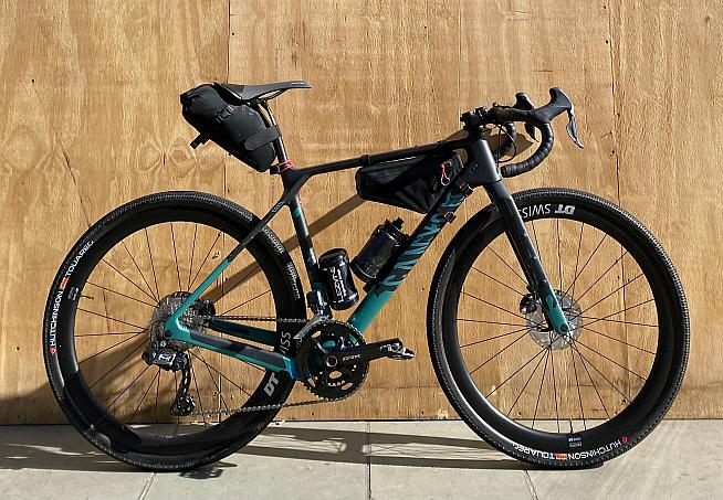 Liam Yates will ride the new Canyon Grizl.