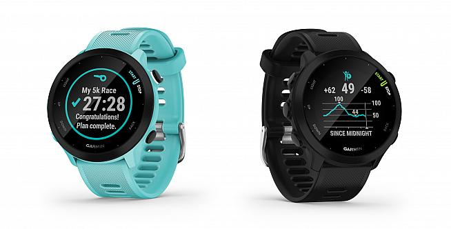 With 20 hours battery life in GPS mode and Strava connectivity the Forerunner 55 is a useful watch for cyclists too.