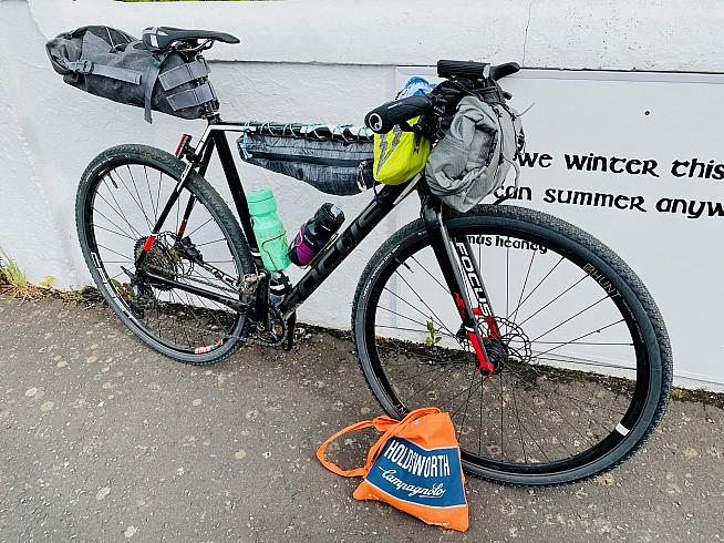 Oisin's Focus Mares now in its 4th incarnation as a wannabe MTB.