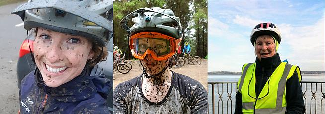 Share your bicycle face and help promote the Women's Festival of Cycling.