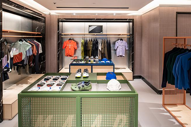 Back on the MAAP: Harrods is renewing its road cycling links.