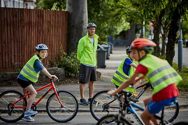 The bursary is funded by the Department of Transport. Photo: Bikeability Trust / John Challicom