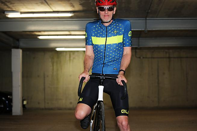 Alé Stars jersey and Agonista bib shorts - kit so good it forced Pete out of retirement and back into racing!