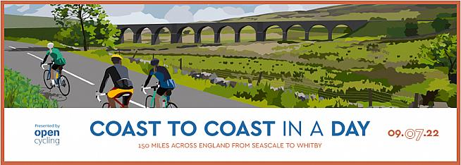 Cross the north of England in a day including some of the UK's toughest climbs.